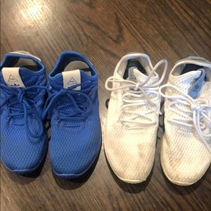 Adidas Farrell Williams sneakers $45 for both